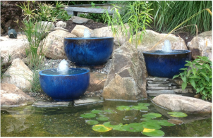 Backyard Fountains Scape Bubbling Urn-NJ
